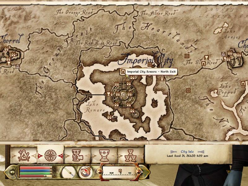 Oblivion Karte.Skyrim Oblivion Morrowind World Of Elder Scrolls Fundorte