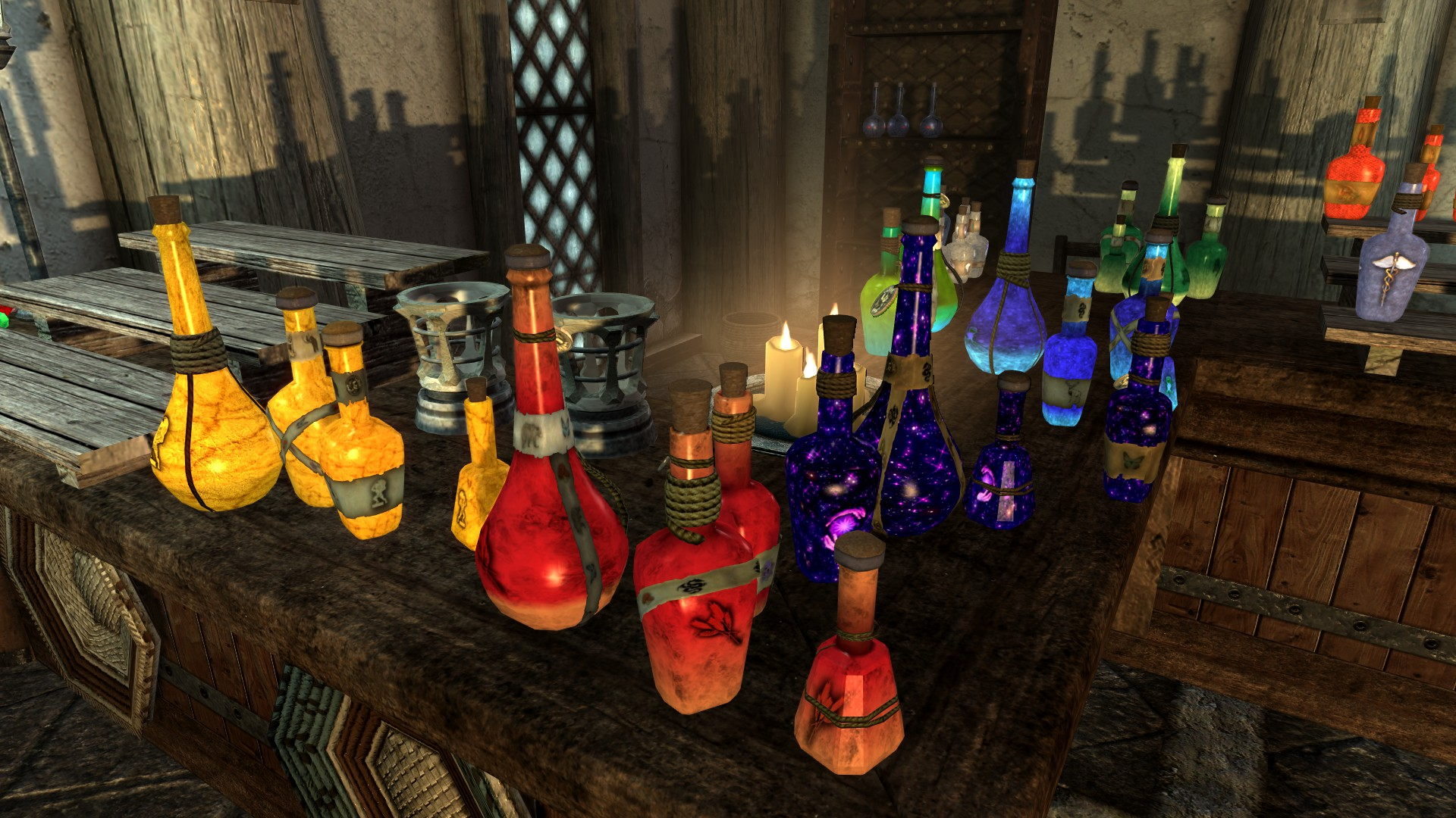 Crafting Potion Skyrim